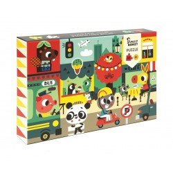 Puzzle Ciudad Petit Monkey