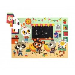 Puzzle colegio Petit Monkey