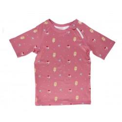 Camiseta protección solar 2-3 años Rosa