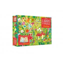 Libro-puzzle Bichitos 100 pz