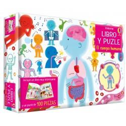 Libro-puzzle El Cuerpo Humano 100 pz