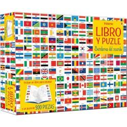 Libro-puzzle Banderas 300 pz