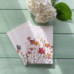 Cuaderno Flores Marialu