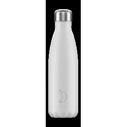 Botellas Chilly's Monocromo Blanco Total 500ml