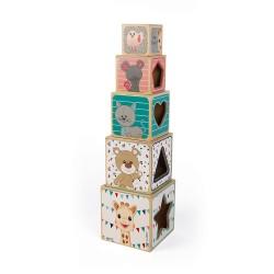 Pirámide cubos Sophie